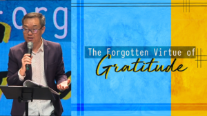 Sermon cover of The Forgotten Virtue of Gratitude